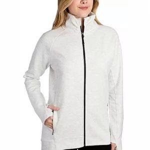 Kirkland Signature White Active Full Zip Jacket L